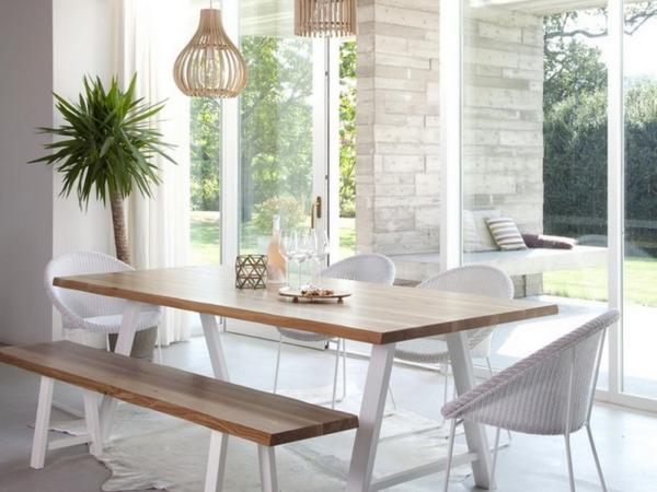 vincent-sheppard-albert-table-banc-chene-massif-metal-blanc-joe-fauteuil-chaise-loom-label-maison-nantes.